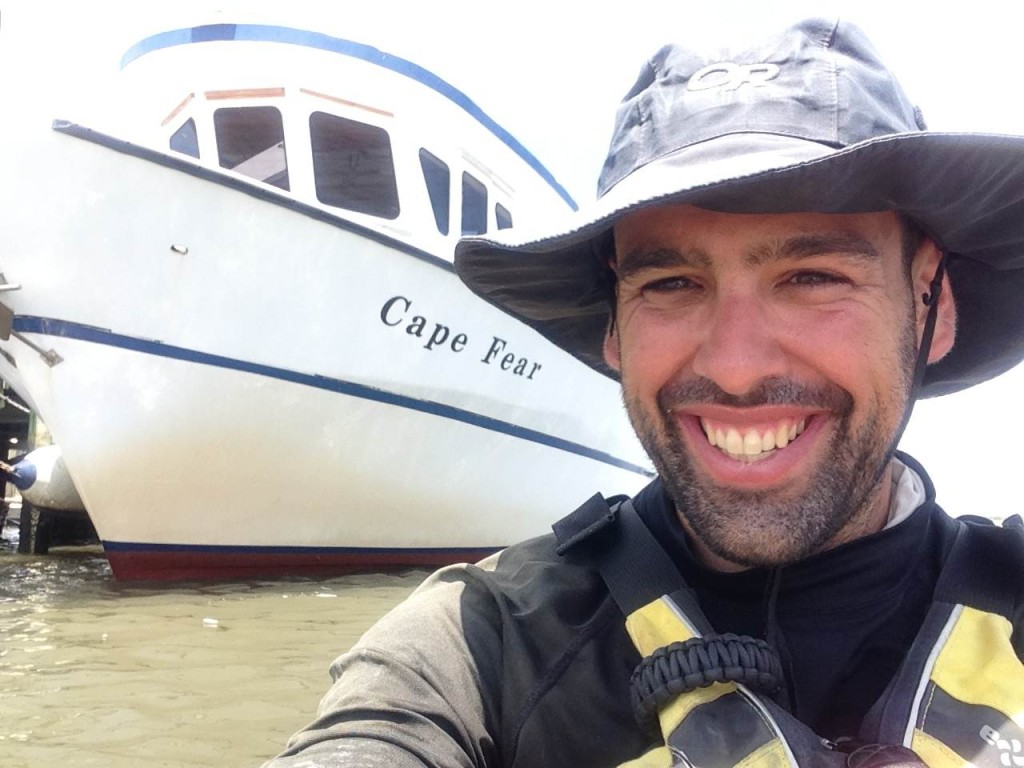 Kayaking Mississippi