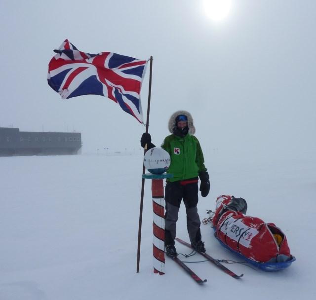Felicity Aston Female Explorer Antarctica