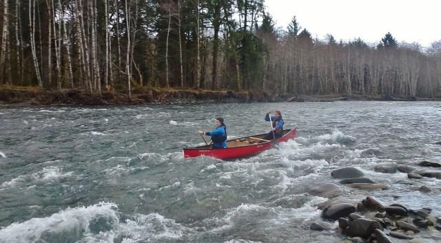 Yukon 1000 canoe race
