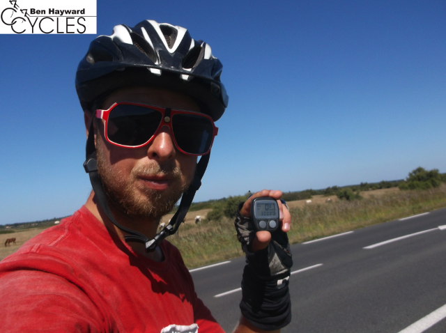 Peter Dudfield cycle around the world