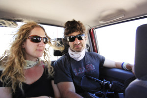 Jennifer Steinman and Sevan Matossian