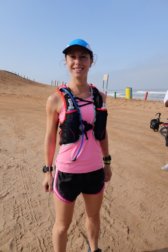 Emma Timmis running across africa