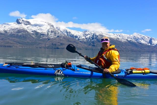 Erin Bastian Kayaking Patagonia