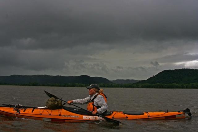 Mississippi River Kayak Ellen McDonah