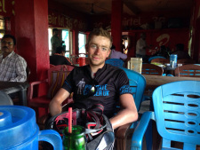 Cycling RTW Tom Davies