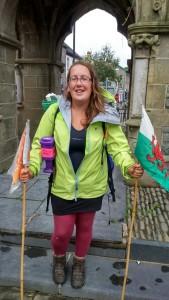 One woman walks Wales Ursula Martin