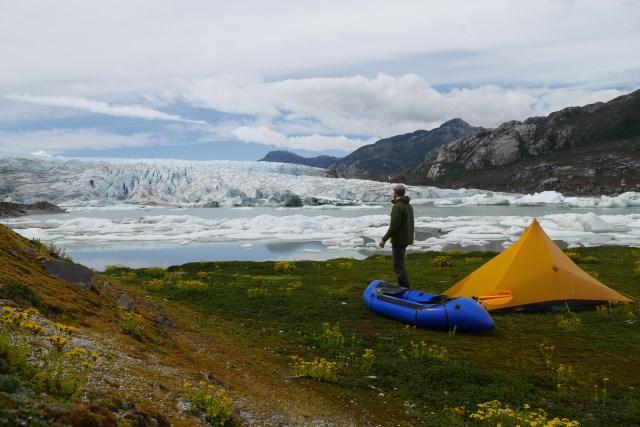 trekking packrafting patagonia