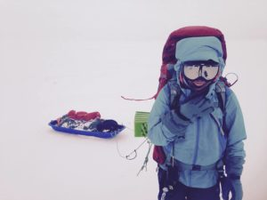Ski touring Russia