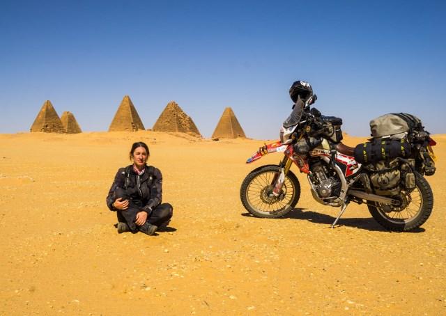 Overland Motorbike Steph Jeavons