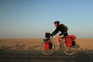 Kate Harris cycling silk road
