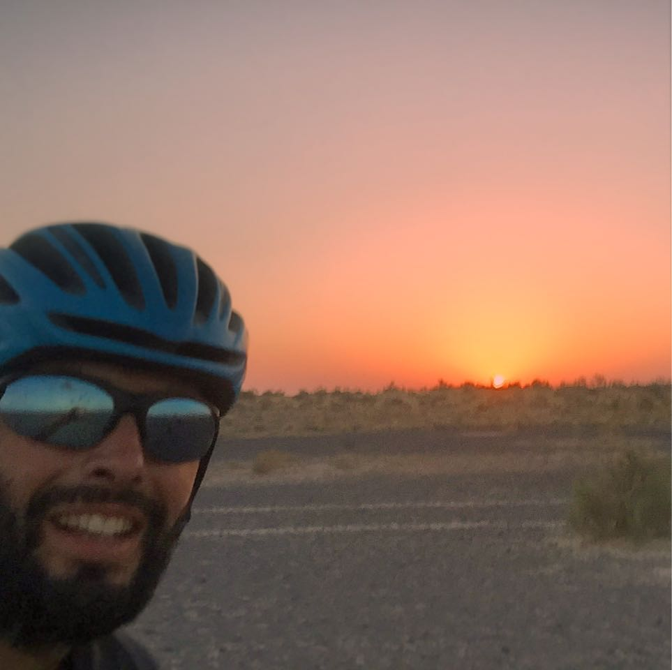 RTW cycling adventure silk road