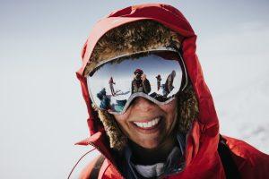 Skiing Greenland