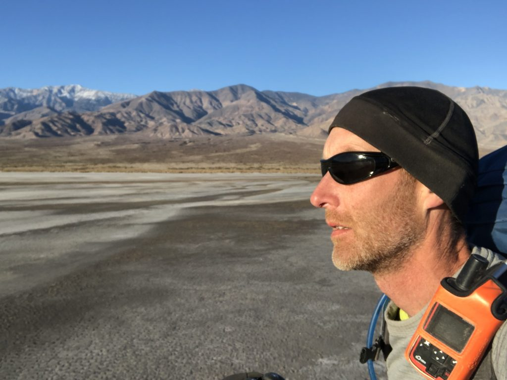 Trekking Death Valley