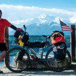 Adam Hugill cycling the world
