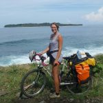 Cycle touring with alice bowers