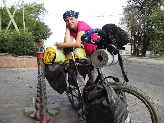 Cycle touring around the world